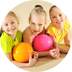 happy kids fun sports